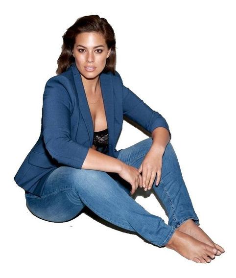 Pantalón Jeans Chupin Elastizados - Damas Talles Grandes
