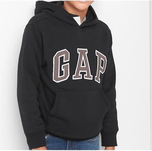 Blusa Moletom Kids Gap Canguru Com Capuz Fleece