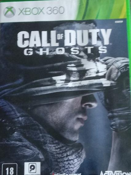 Call Of Duty Ghosts Usado Xbox 360 Midia Fisica Original