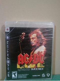 Ac/dc Live Rock Band Track Pack Para Ps3 Nuevo Y Sellado