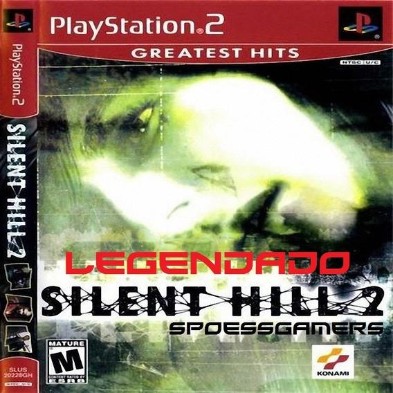 Silent Hill 2 Legendado Português Ps2 Desbloqueado Patch
