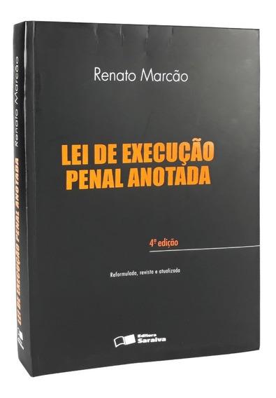Livro Lei De Execução Penal Comentada Renato Marcão Novinho