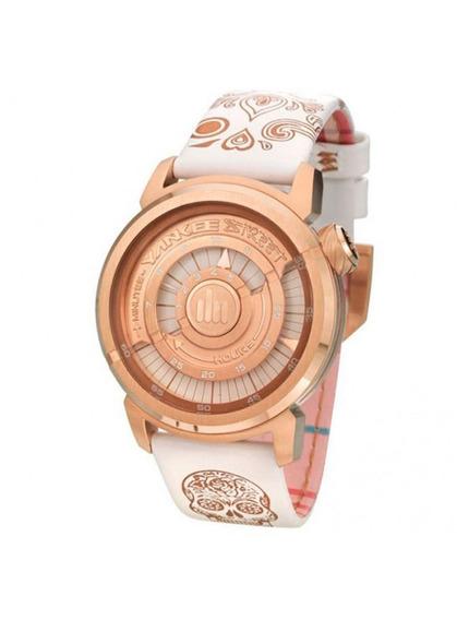 Relógio Yankee Street Feminino - Ys38285b - Branco/dourado