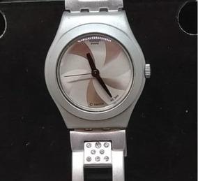 Relógio Swatch T02140 Feminino Alumínio Webclock