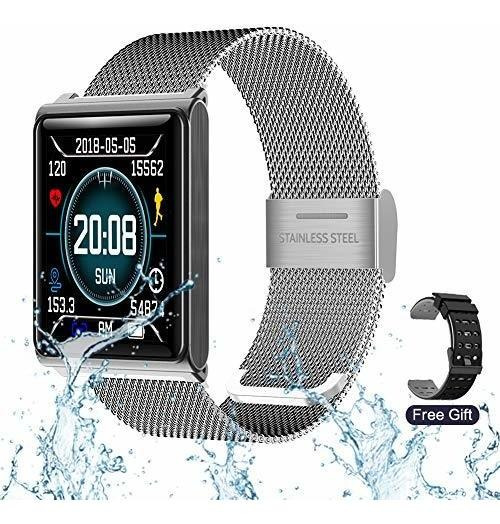 Rzatu Reloj Inteligente Para Teléfonos Android Fitness Track