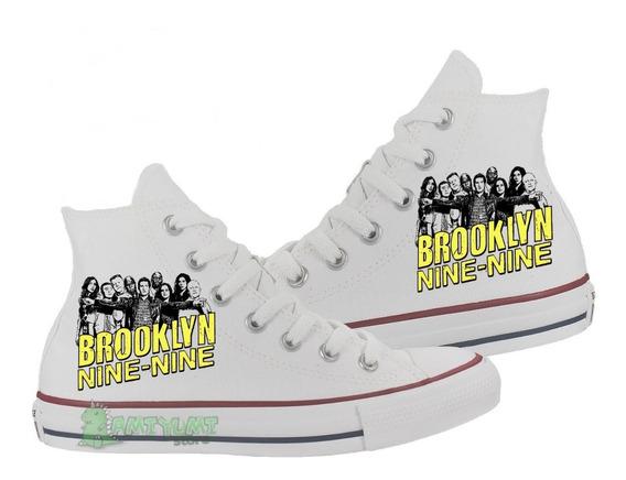 Tênis Brooklyn Nine Nine All Star Converse Feminino Botinha