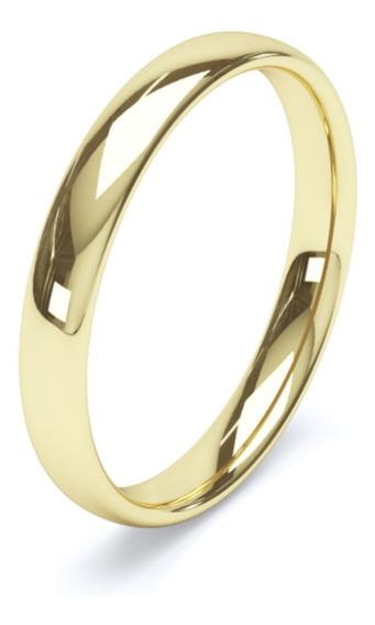 Argolla Confort Baño De Oro 16k Anillo Matrimonio 6313158
