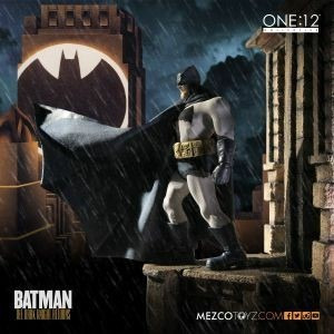 Mezco Toys 1:12 Batman Negro Frank Miller Canje