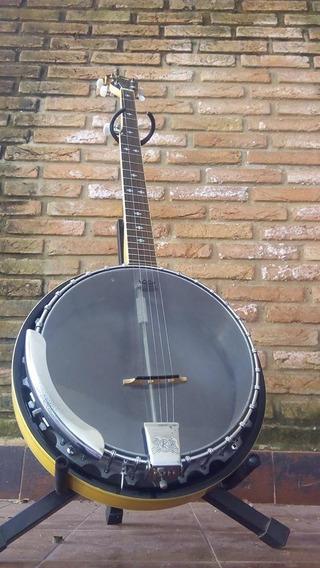 Banjo Kay 5 Cordas + Hardcase
