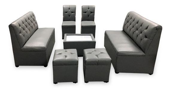 Sala Lounge Vintage Minimalista Moderna Sillones Economicas