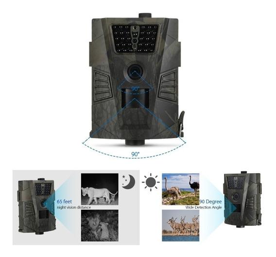 Câmera Trilha Visão Noturna Ht-001 Para Caça Ou Segurança