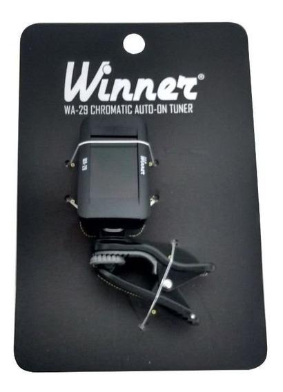 Afinador Clip Winner Cromatico