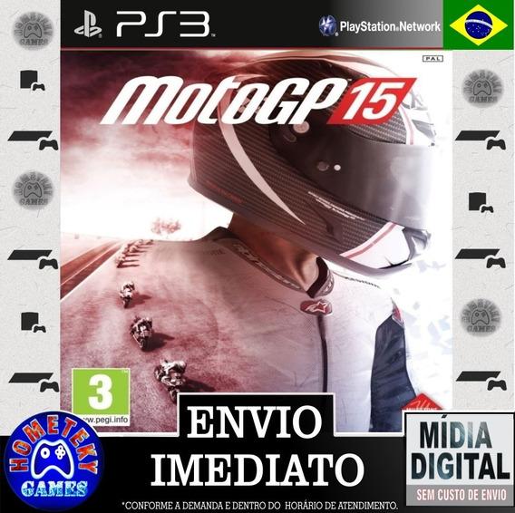 Motogp 15 - Psn Ps3 Português Br Pronta Entrega
