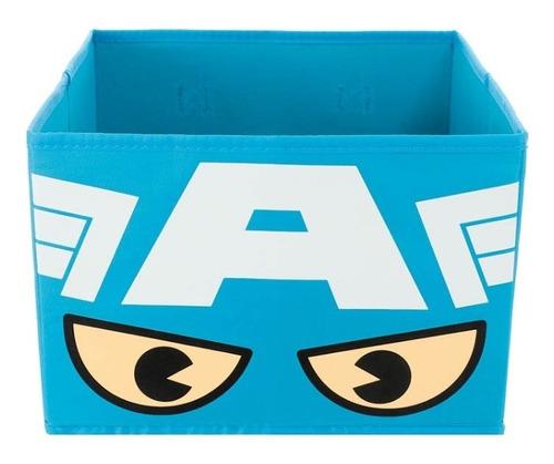 Caixa Organizadora Dobrável Marvel Miniso - Capitão América