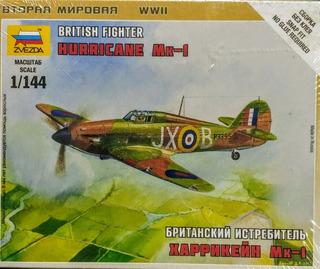 Hurricane Mk-1 Escala 1/144 Zvezda 6173