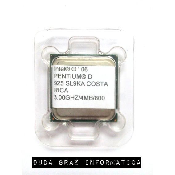 Processador Intel Pentium D 3.00ghz/4mb/800