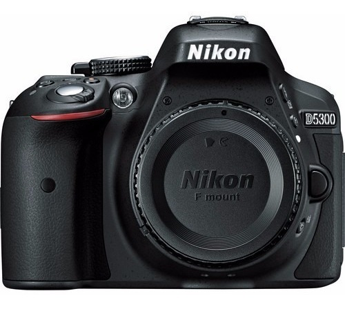Câmera Digital Nikon Dslr D5300 (apenas Corpo) 12x S/juros