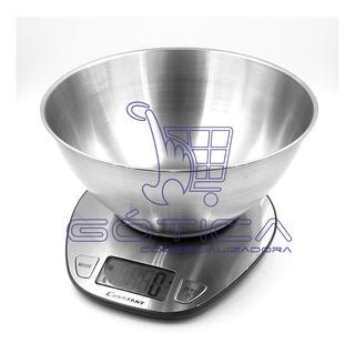 Gramera Metalica 5kg Digital Liquidos Y Solidos Constant
