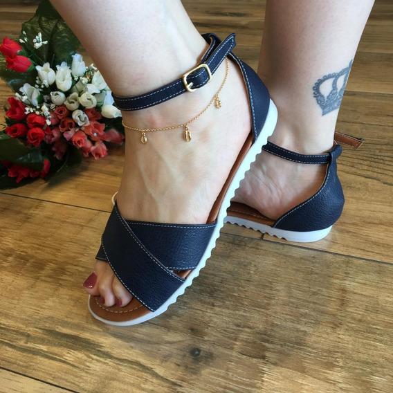 Sandália Solado Tratorado Luxo Palmilha Confort Santa Liz