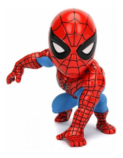 Figura De Acción Spiderman 10cm Die Cast Metal Jada Toys