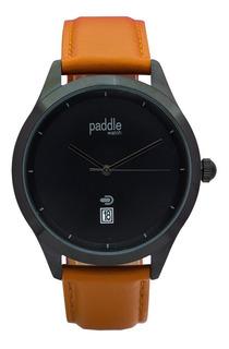 Reloj Moda Hombre Malla De Cuero Paddle Watch