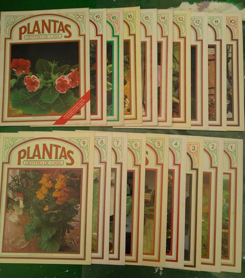 Coleção De Revistas Plantas Dentro De Casa