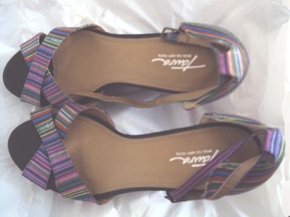 Salto Alto Plataforma Sapato Calçado 13cm