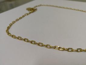 Corrente De Ouro Cartier Fecho Canhão Maciça 16.4g / 57cm