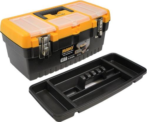 Caja Porta Herramientas Plastica Mano Mt-16 40x19x19