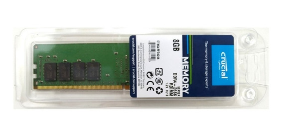 Memória 8gb Ddr4-2666 Ecc Rdimm Dell Hp Lenovo Supermicro