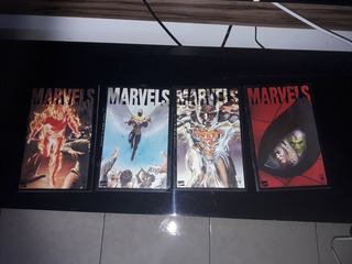 Revista Em Quadrinhos Marvels