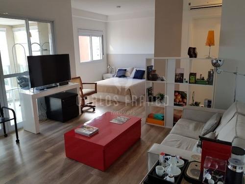Apartamento 1 Dormitorio , 1 Vaga  Localizado No Brooklin - Cf54343