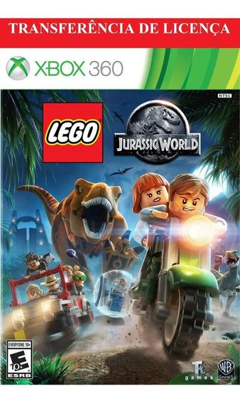 Lego Jurassic World Xbox 360 Midia Digital Com Licença