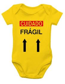 Body De Bebê - Cuidado Frágil