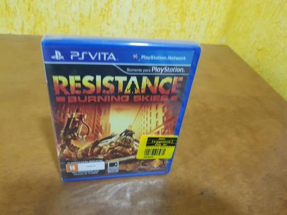 Resistance Burning Skies Lacrado Vita