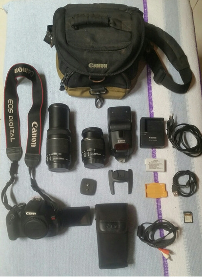 Câmera Canon Profissional Rebel It3