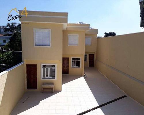 Sobrado Com 1 Dormitório À Venda, 66 M² Por R$ 250.000,00 - Vila Ré - São Paulo/sp - So0356