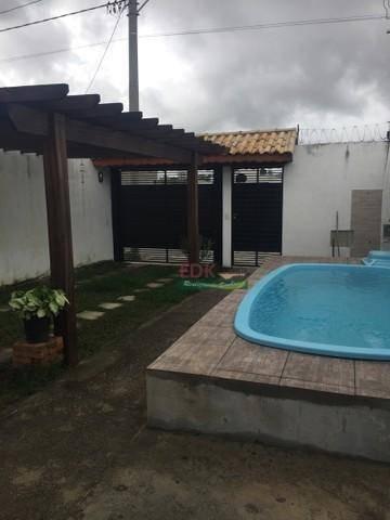Imagem 1 de 6 de Casa Com 3 Dormitórios À Venda, 125 M² Por R$ 380.000 - Parque Do Museu - Caçapava/sp - Ca6234