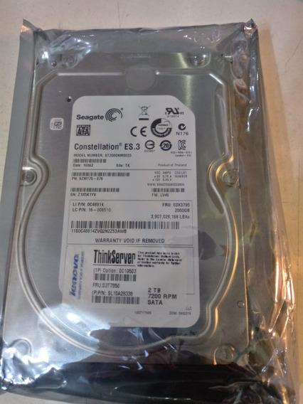 Disco Rigido Orignal Lenovo 2tb Sata 3.5 Para Server Ts150