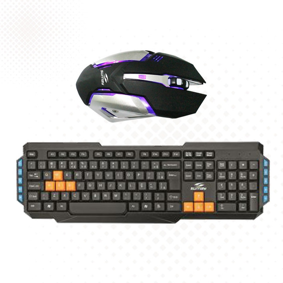 Mouse Optico Teclado Gamer Sumay