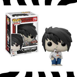 Funko Pop! Light Yagami - Pop! Death Note L #219 Kemuñecos