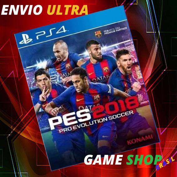 Pes 2018 Ps4 Pro Evolution Soccer 2018 Ps4 Psn Cod 1 - Pt-br