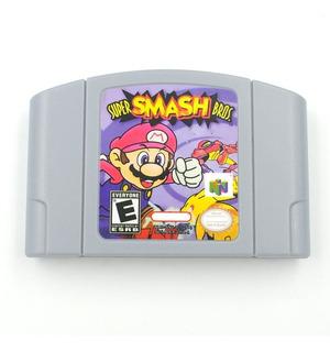 Super Smash Bros N64 Nintendo 64 Repro