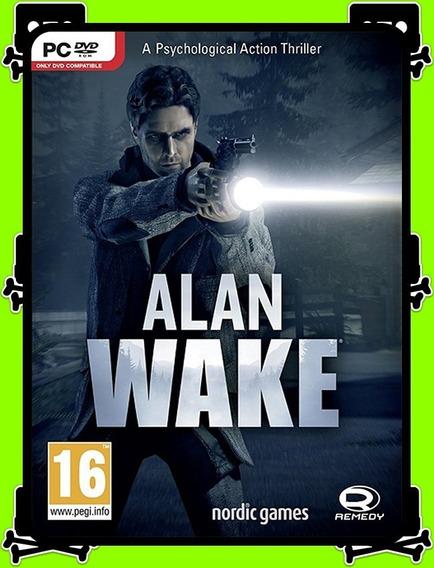 Alan Wake Pc - 100% Original (steam Key)