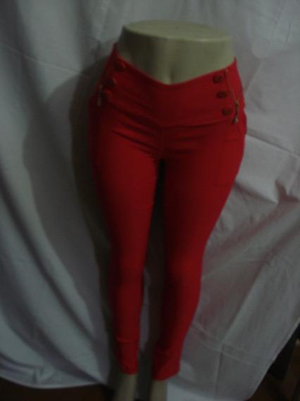 Calça Maxma Tamanho 3 Modelos Vermelhas