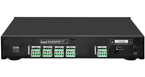 Setorizador 4 Ambientes Loud Digital Ssw 4