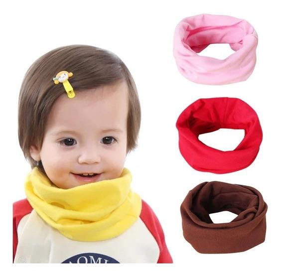 Gola Cachecol Infantil Em Malha Bebê Estiloso