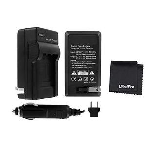 Cargador De Batería Para Cámara Digital Ultrapro Nikon D7500
