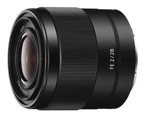 Lente Sony Fe 28mm F2 | Nf + Garantia Sony