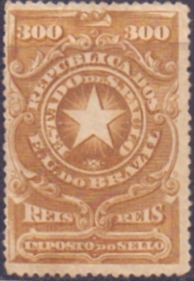 S P - Imposto Do Sello - 1905 - 300 Reis ------------- 10085